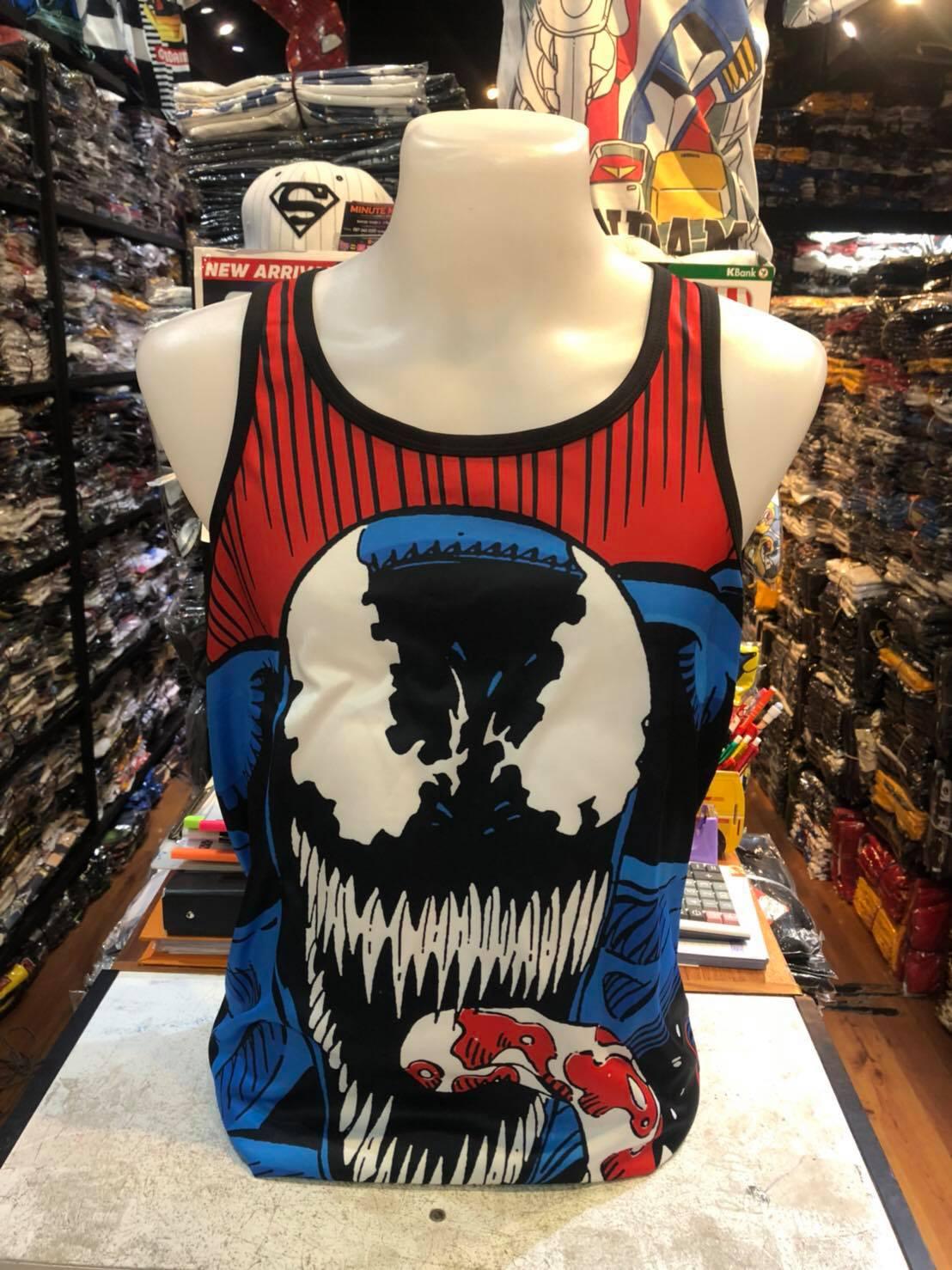 มาร์เวล เสื้อกล้าม (Venom big red CODE:1232)