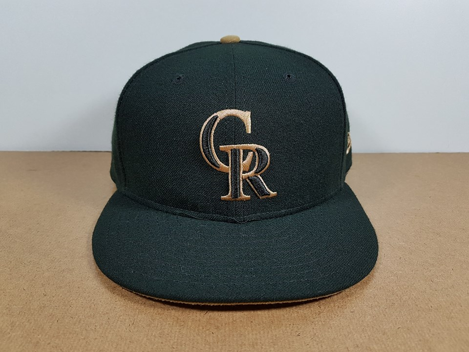 New Era MLB ทีม Colorado Rockies 59Fiffty 🎃ไซส์ 7 1/4 ( 57.7cm )