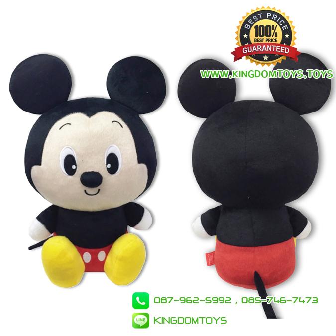 ตุ๊กตามิกกี้ 12 นิ้ว ท่านั่ง ผ้า 1C [Disney]