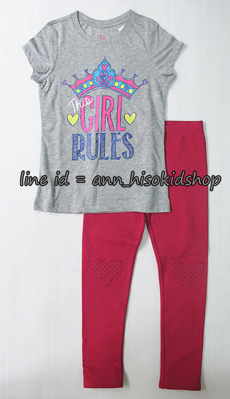 SP008 The children place Graphic Tee + Palmino Legging