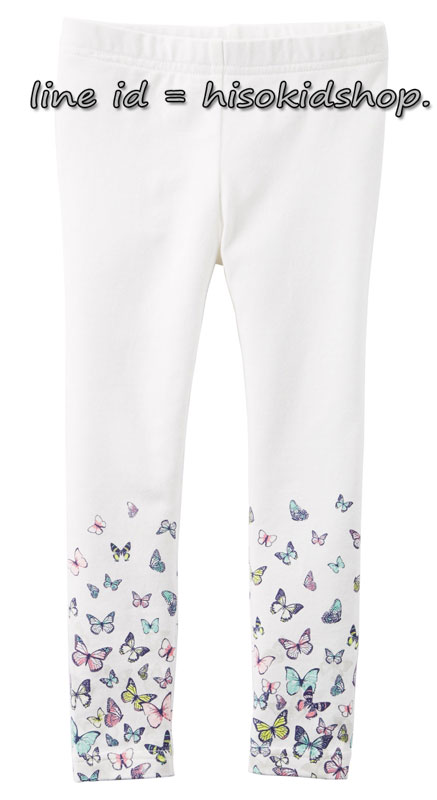 1814 Carter Butterfly Print Legging - Off White ขนาด 6 ปี