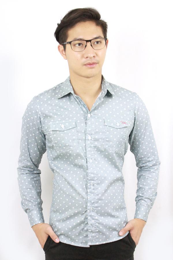 เสื้อเชิ้ตแขนยาว ชาย NANAPA Shirts NA-013