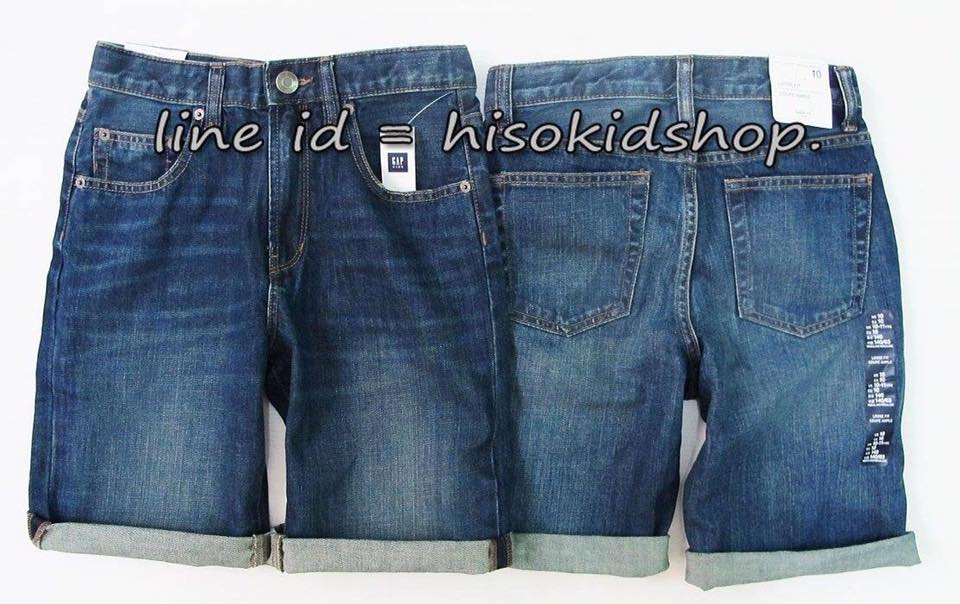 1775 Gap Kids Short Jeans - Blue ขนาด 7-16 ปี