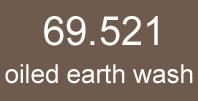 mecha vallejo 69. 521 oiled earth wash 17ml.