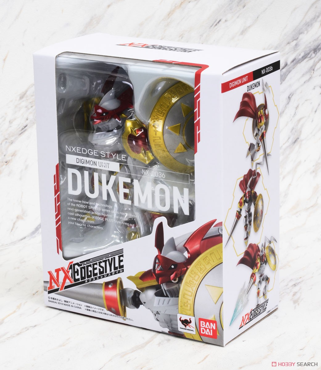 Nxedge Style [Digimon Unit] Dukemon (Completed)