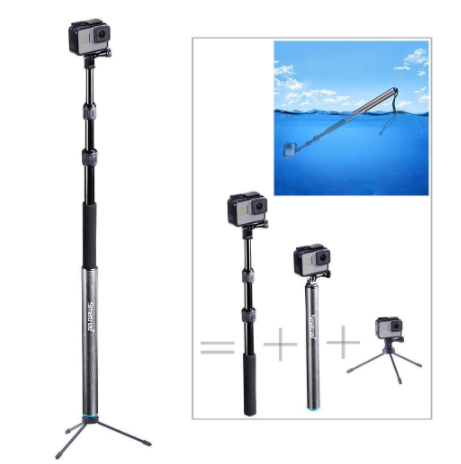 """SmaPole S3 Floating Pole with Tripod Stand (12.5""""- 39.5"""")"""