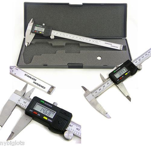 เวอร์เนีย ดิจิตอล 200 MM (8นิ้ว) พร้อมกล่อง HARD CASE(TOOL002)