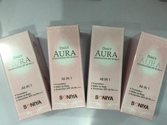 SONIYA Daily Aura Foundation SPF40 PA+++ #01 IVORY