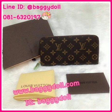 Louis Vuitton Monogram Zippy Wallet กระเป๋าสตางค์หลุยส์ ใบยาว ซิบรอบ **เกรดAAA+**