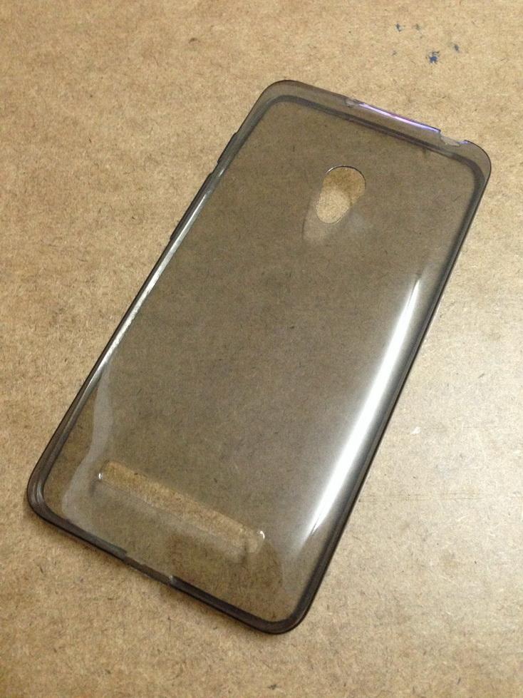 เคสนิ่มใส (หนา 0.3 mm) Zenfone 5 สีเทา