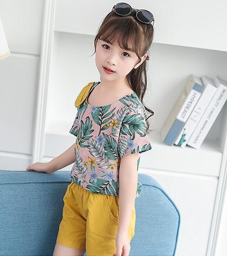 เสื้อ+กางเกง สีเหลือง แพ็ค 6 ชุด ไซส์ 110-120-130-140-150-160 (เลือกไซส์ได้)