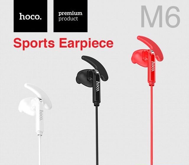 หูฟัง hoco M6 Sports สีดำ