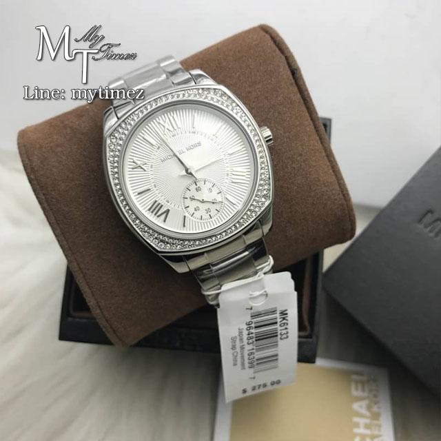 MICHAEL KORS Bryn Silver Dial Stainless Steel Ladies Watch MK6133