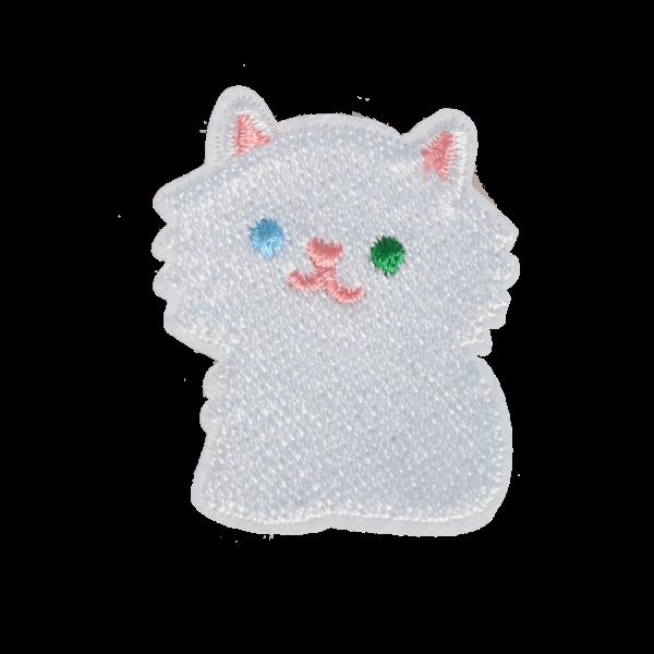 M0117 White Cat 4.5x3.8cm