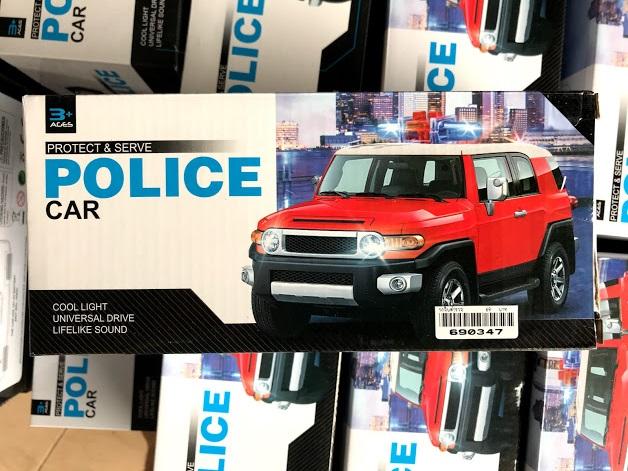 รถจิ๊บตำรวจ