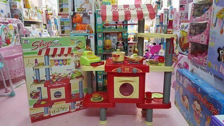 ชุด Shop พร้อมครัว set ใหญ่