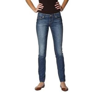 (ไซส์ 18 เอว 38 สะโพก 48 นิ้ว ) กางเกงยีนส์ สีอ่อน ยี่ห้อ Mossimo ทรงสวยใส่สบายๆ