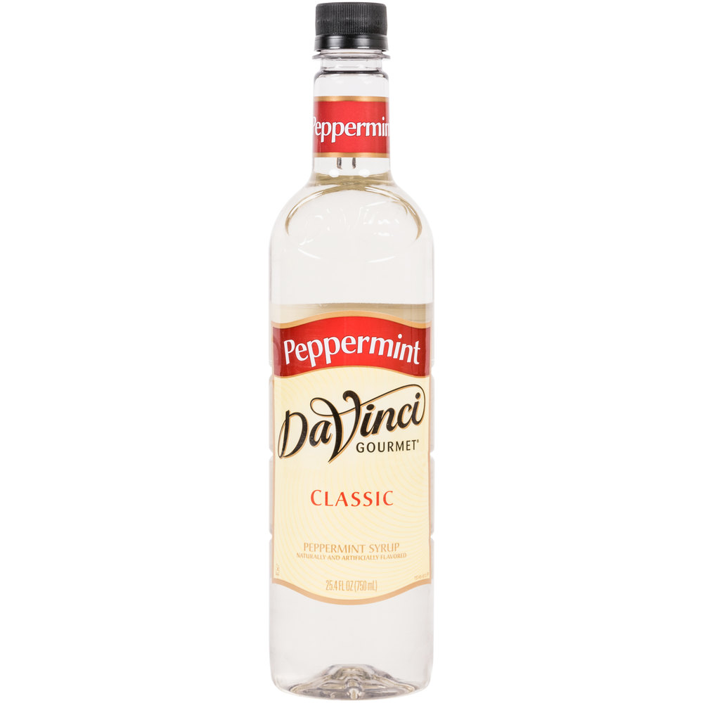 Peppermint Syrup - 750ml