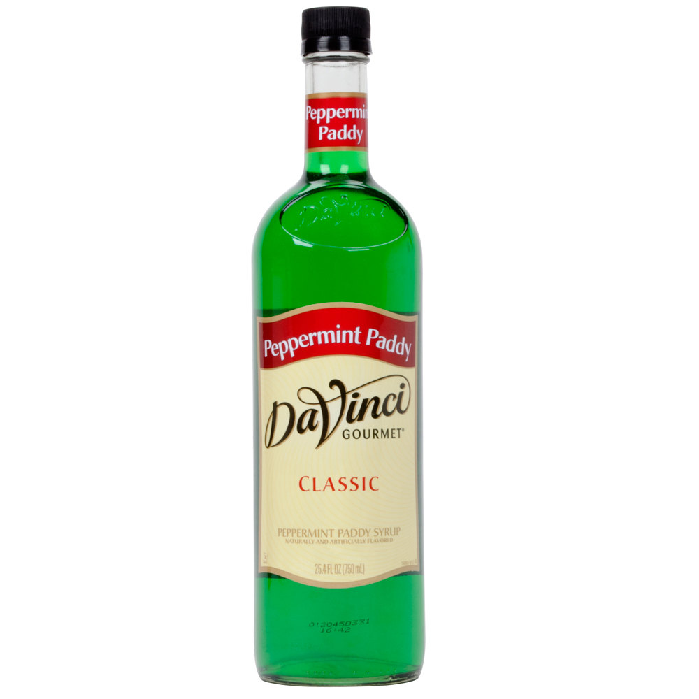 Peppermint Paddy Syrup - 750ml