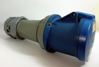 ปลั๊กตัวเมียกลางทาง รุ่น PowerTOP IP44 63Amp ขั้ว 2P+E 230V