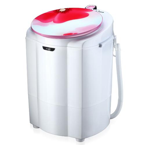 เครื่องซักผ้า 2in1 ซักและปั่นแห้ง ขนาดกระทัดรัด ส่งฟรี