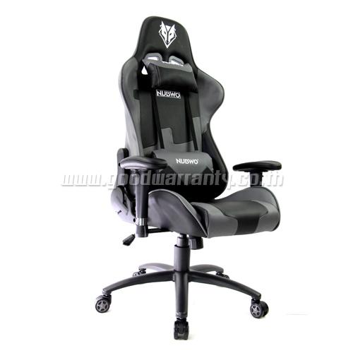 เก้าอี้ เกมมิ่ง NUBWO ERGONOMIC GAMING CHAIR รุ่น CH-011 สีเทาดำ