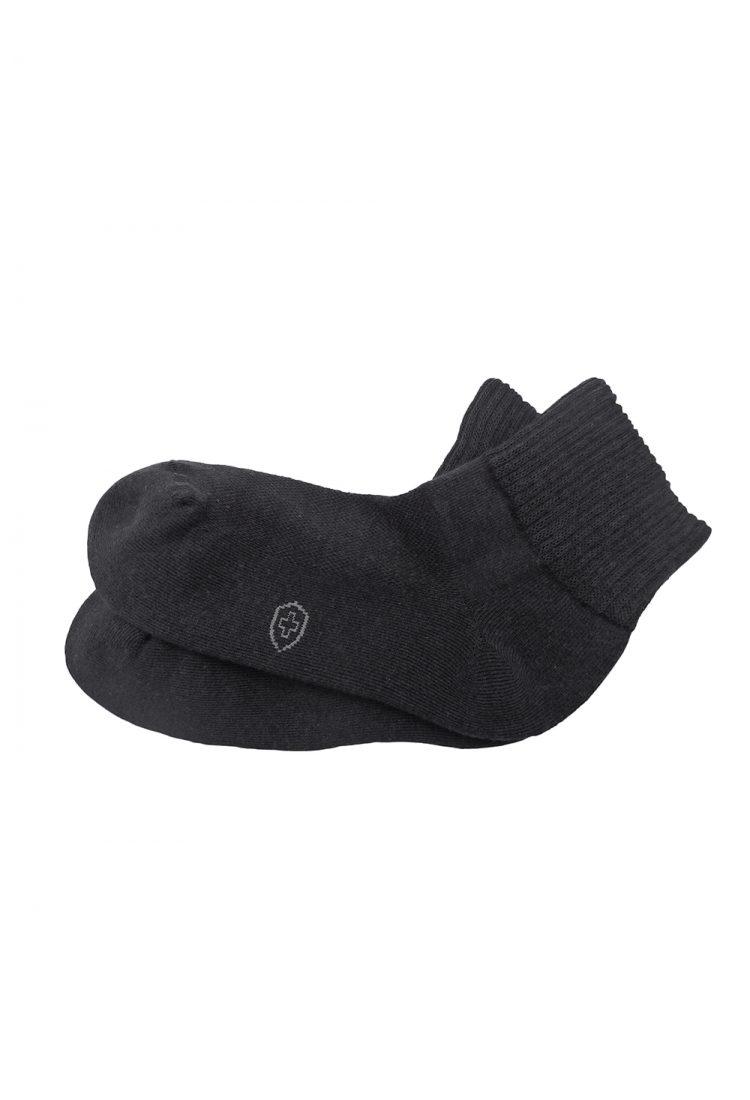 ถุงเท้าเบาหวาน ถุงเท้าผู้สูงอายุ หรือผู้ที่ทำงานหนัก ต้องการสวมใส่ให้สบาย ปกป้องเท้า รุ่นมาตรฐาน **สีเทาดำ** ราคาพิเศษ