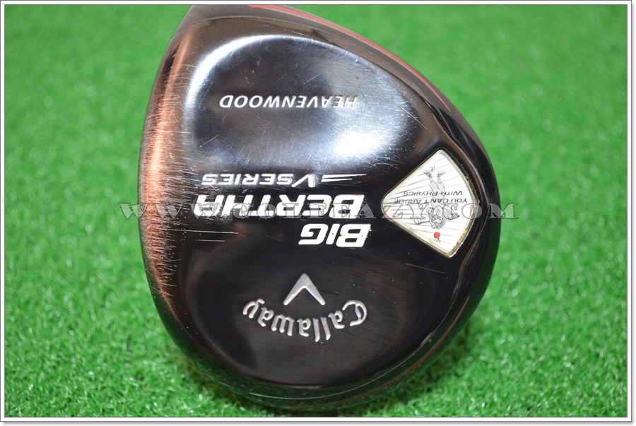 CALLAWAY BIG BERTHA V-SERIES HEAVENWOOD 20.5* FAIRWAY WOOD FLEX R