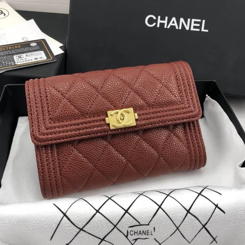 กระเป๋าแบรนด์ Chanel wallet งานHiend Original