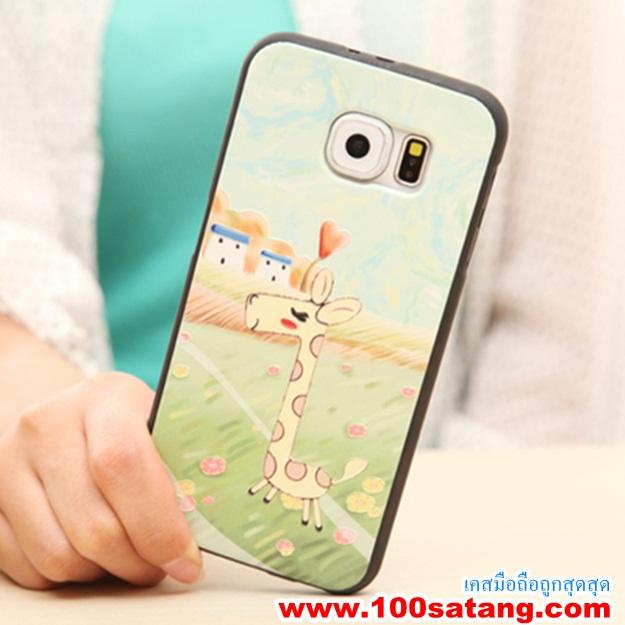 (พร้อมส่ง)เคสมือถือซัมซุง Case Samsung S6 edge เคสนิ่มลายการ์ตูน กราฟฟิค สวยๆ