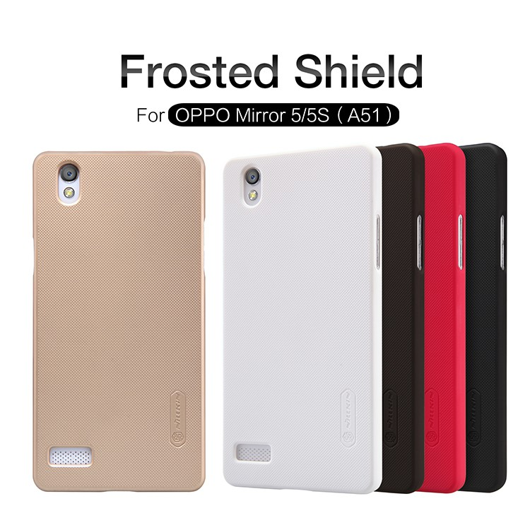 OPPO Mirror5 - เคสหลัง Nillkin Super Frosted Shield แท้