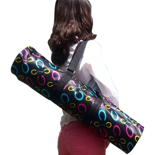 กระเป๋าลายกันน้ำ สำหรับใส่เสื่อโยคะ