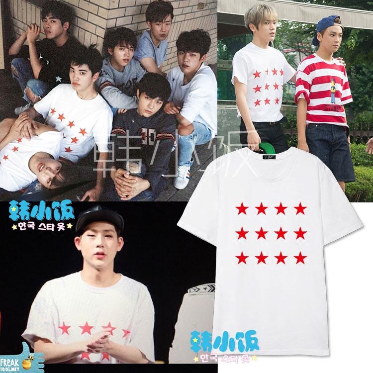 เสื้อยืด STAR RED Sty.NCT 127 -ระบุสี/ไซต์-