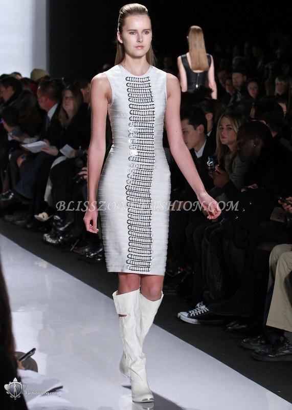 HV110 / Preorder Herve Leger Dress Style พรีออเดอร์เดรสไตล์ Hervr Leger เดรสผ้ายืด ใส่สวยเน้นรูปร่าง