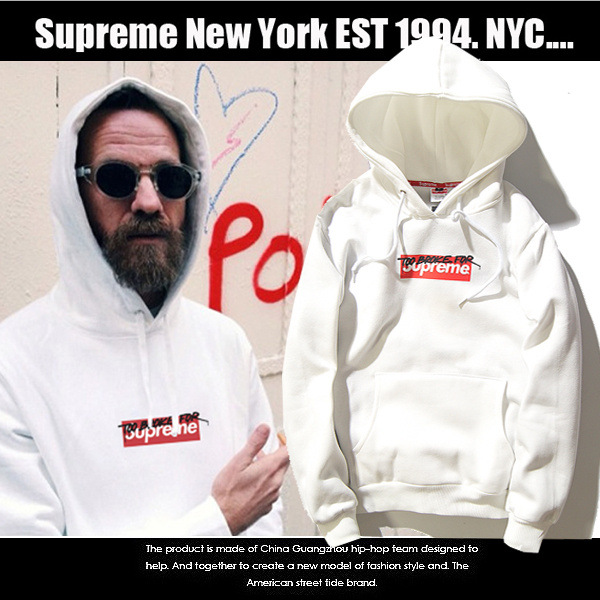 Hoodie Supreme Too broke for 16ss -ระบุไซต์-