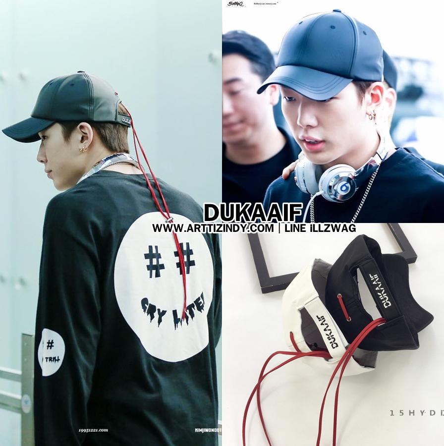 หมวก DUKAAIF แบบ Bobby iKON -ระบุสี-