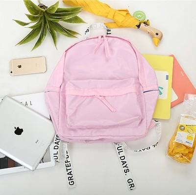 กระเป๋าเป้ UNION OBJET สีชมพู
