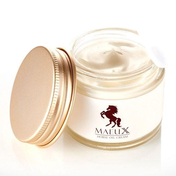 Mauex Horse Oil (มายูเอ็กซ์) ครีมน้ำมันม้าทองคำ