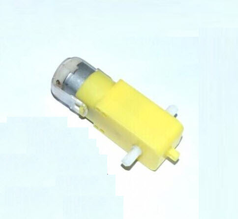3-6V Yellow DC Gear Motor
