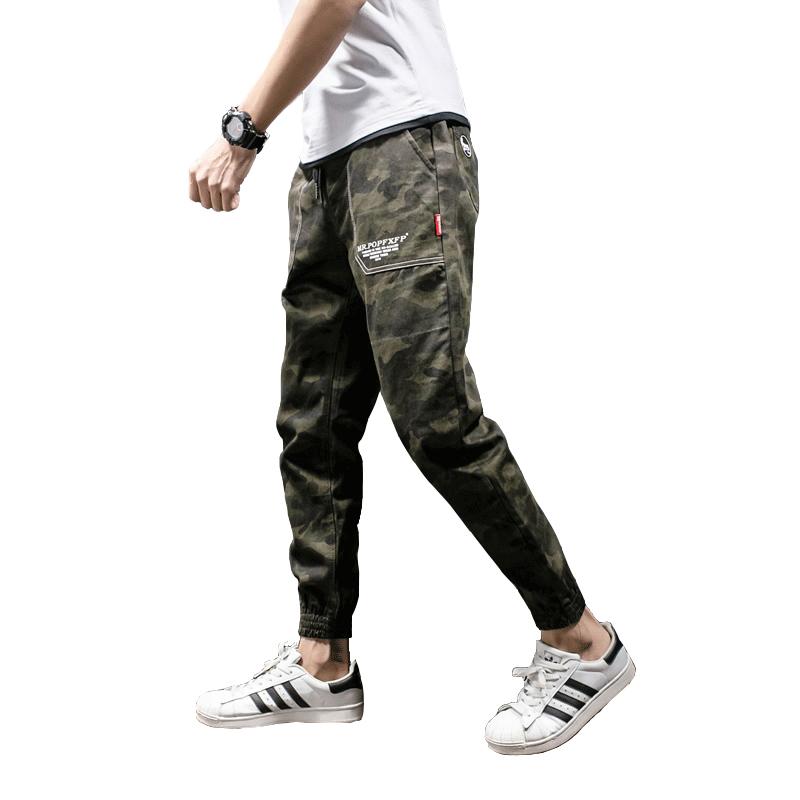 *Pre Order* D JPY กางเกงลำลองแฟชั่นชายญี่ปุน/ทรงหลวม-ขาจั๊ม size M-3XL