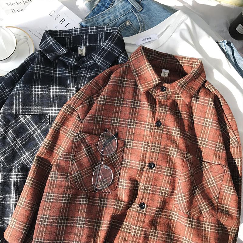 *Pre Order*เสื้อเชิ้ตแขนยาวผ้าฝ้าย90% /เกาหลี size M-2XL