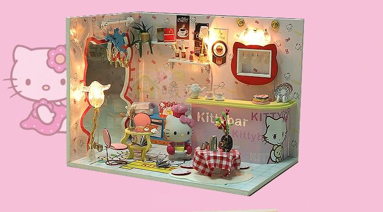 ฉาก DIY Kitty Bar.