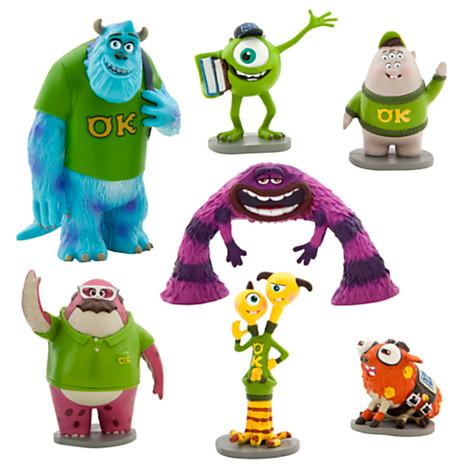 z Monsters University Figure Play Set