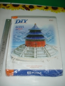 3D puzzle the temple of heaven china