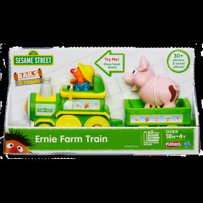 Z Sesame Street Ernie Farm Train Playskool