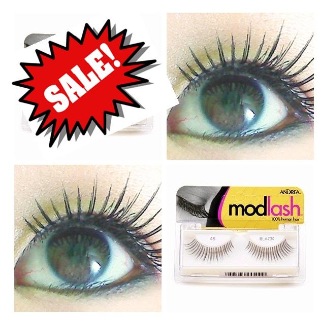 **พร้อมส่งค่ะ+ลด 70%**ขนตาปลอม Andrea Modlash Strip Lash, 45 Black