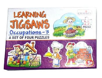 Learning Jigsaw Learning - Occupation 3