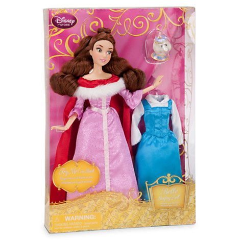 z Singing Doll and Costume Set - Belle - 11 1/2''