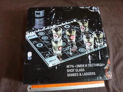 shot glassshakes & ladders
