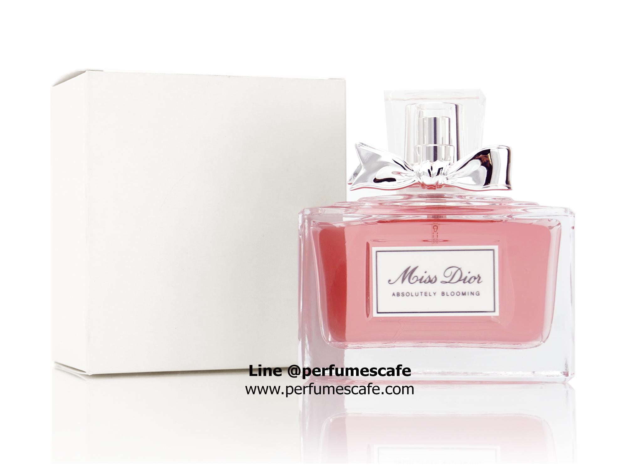 น้ำหอม Miss Dior Absolutely Blooming EDP ขนาด 100ml กล่องเทสเตอร์
